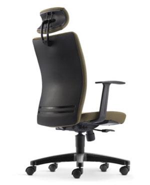 Ergo Presidential High Back Fabric Office Chair