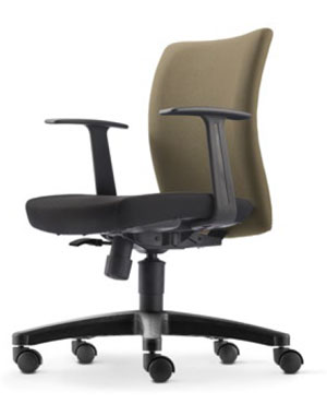 Ergo Executive Low Back Fabric Office Chair