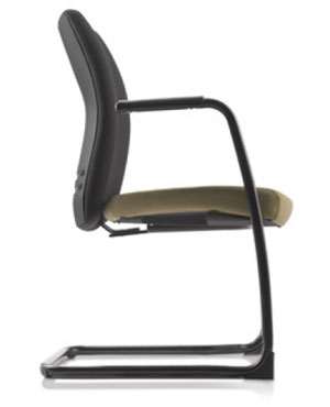Ergo Visitor/Conference Fabric Office Chair With Arm
