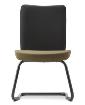 Ergo Visitor/Conference Fabric Office Chair Without Arm