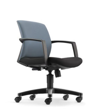 Eve Executive Low Back Fabric Office Chair