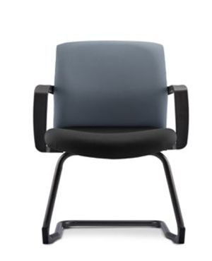 Eve Visitor/Conference Fabric Office Chair With Arm