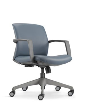 Fits Executive Low Back Leather Office Chair