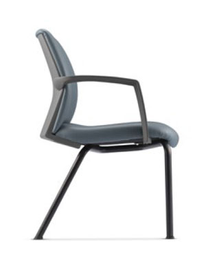 Fits Visitor/Conference Leather Office Chair With Arm
