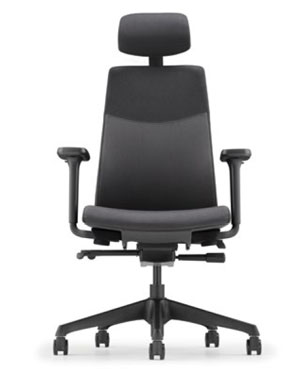 Hugo Presidential High Back Fabric Office Chair