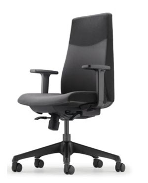 Hugo Executive Low Back Fabric Office Chair