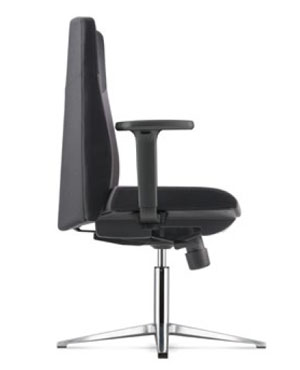 Hugo Visitor/Conference Fabric Office Chair With Arm