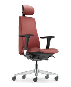 Hugo Presidential Medium Back Leather Office Chair