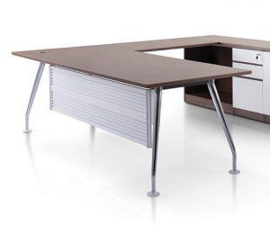 Executive Series Manager Table Set with Ixia Chrome Leg