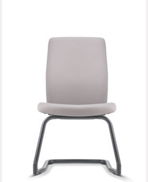 Karisma Visitor/Conference Leather Office Chair Without Arm