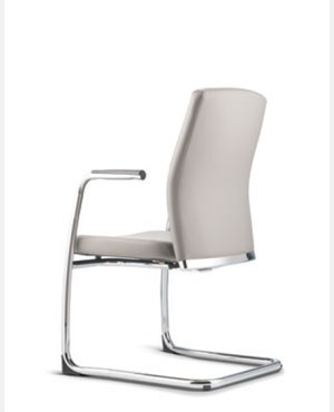 Karisma Visitor/Conference Leather Office Chair With Arm