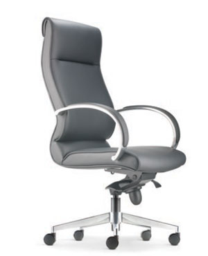 Klair Presidential High Back Leather Office Chair