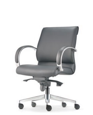 Klair Executive Low Back Leather Office Chair
