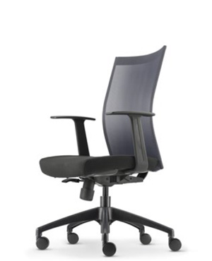 Mesh 2 Presidential Medium Back Fabric Office Chair