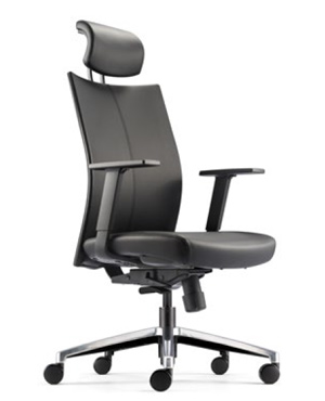 Mesh 2 Presidential High Back Leather Office Chair