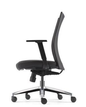 Mesh 2 Presidential Medium Back Leather Office Chair