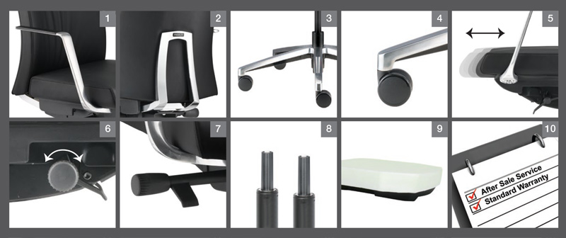 Premium Lowres Office Chair Optional Specification