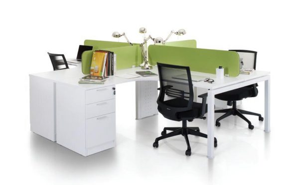 Office Workstation Rumex Concept - Keno Design Puchong Office Furniture