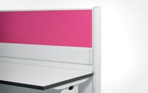 Customised Panel Colour to match office design