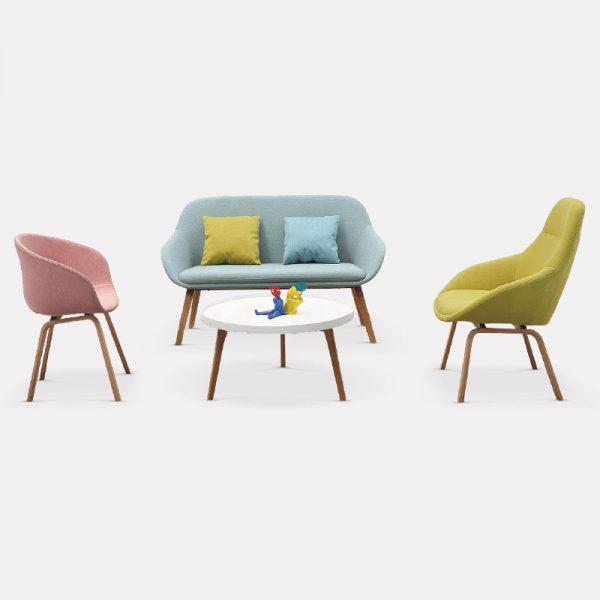 Hailey Office Sofa Seat