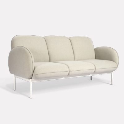 Moment Office Sofa - Three Seater