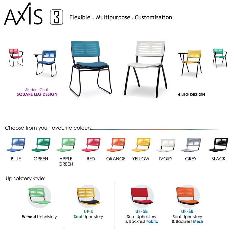 Axis 3 Student Chairs