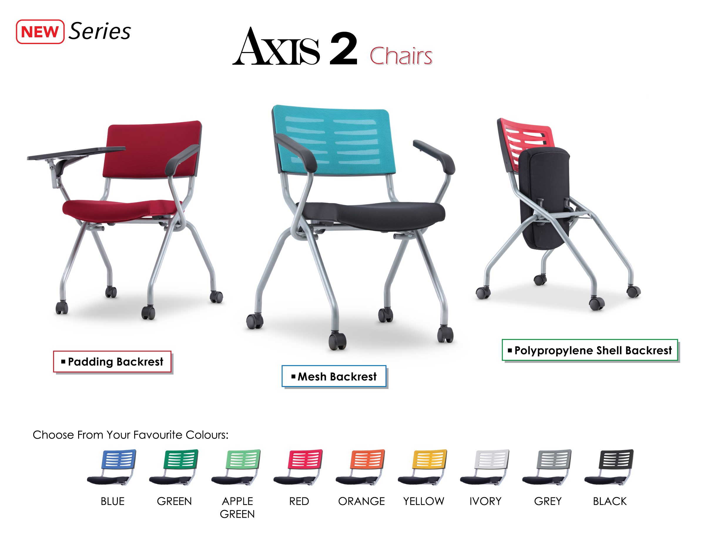 Axis 2 New Series Office Chairs Specification