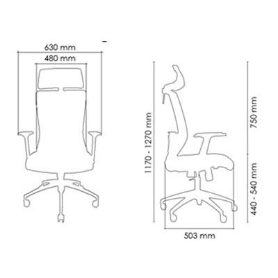 Paris Series Office Chair - Keno Design Office Chair Supplier